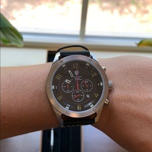 Rebel Time Aviator Chronograph Watch